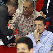 Hidayet TURKOGLU during their Turkish Basketball league Play Off Final third leg match Fenerbahce Ulker between Efes Pilsen at the Abdi Ipekci Arena in Istanbul Turkey on Tuesday 25 May 2010. Photo by TURKPIX
