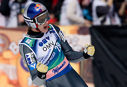 SCHLIERENZAUER Gregor, SV Innsbruck-Bergisel, AUT  reacts during Flying Hill Individual Fourth Round at 3rd day of FIS Ski Flying World Championships Planica 2010, on March 20, 2010, Planica, Slovenia.  (Photo by Vid Ponikvar / Sportida)
