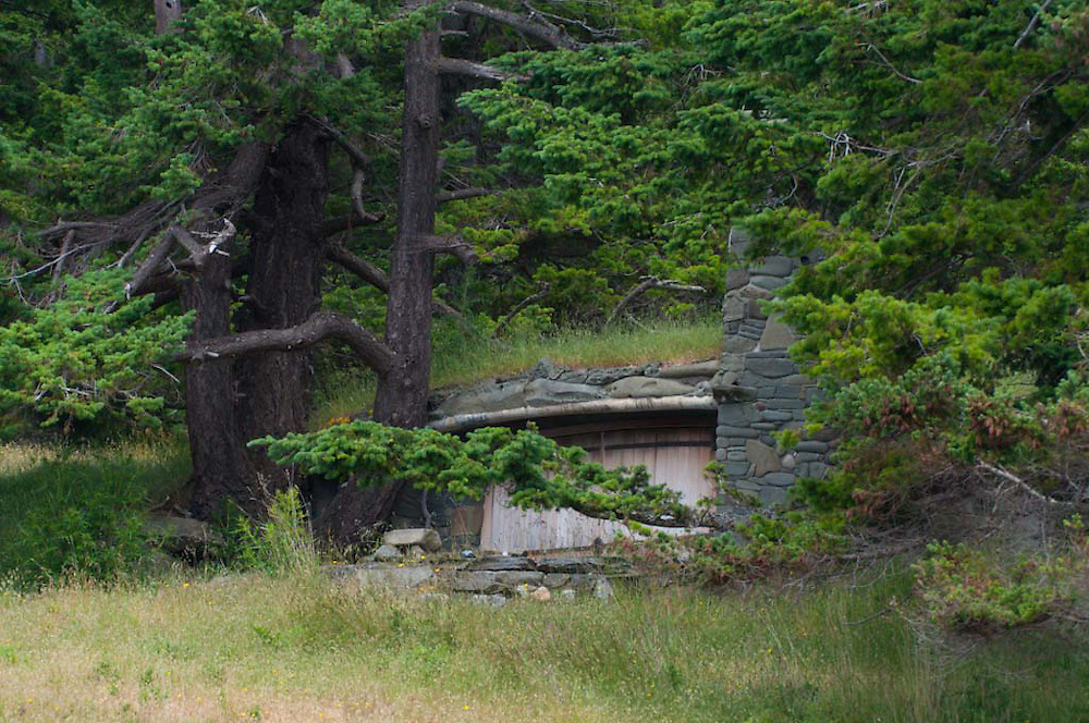 Hillside Home, Stuart Island, San Juan Islands, Washington, US