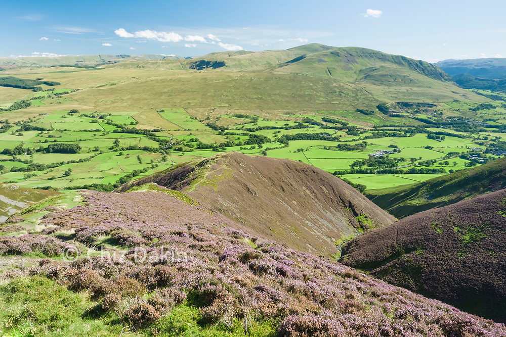 Great views across to the Helvellyn Range from Doddick Fell