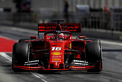 May 14, 2019 - Montmelo, Spain - CHARLES LECLERC of Scuderia Ferrari Mission Winnow during the Formula 1 in season testing at Circuit de Barcelona-Catalunya in Montmelo, Spain. (Credit Image: © James Gasperotti/ZUMA Wire)