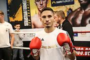 Boxen: Boxen Live, EC Boxing & SES Boxpromotion, Hamburg, 15.01.2020<br /> Öffentliches Training: Nenad Stancic<br /> © Torsten Helmke