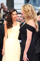 May 13, 2016 - Cannes, Provence-Alpes-Cote-D-Azur, France - Amal Clooney et Julia Roberts - CANNES 2016 - MONTEE DES MARCHES DU FILM 'MONEY MONSTER' (Credit Image: © Visual via ZUMA Press)