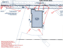 Key Plan 1 of 3 for Progress Documentation Submission 11 on 23 May 2017. Boathouse at Canal Dock Phase II | State Project #92-570/92-674 Boathouse at Canal Dock Phase II