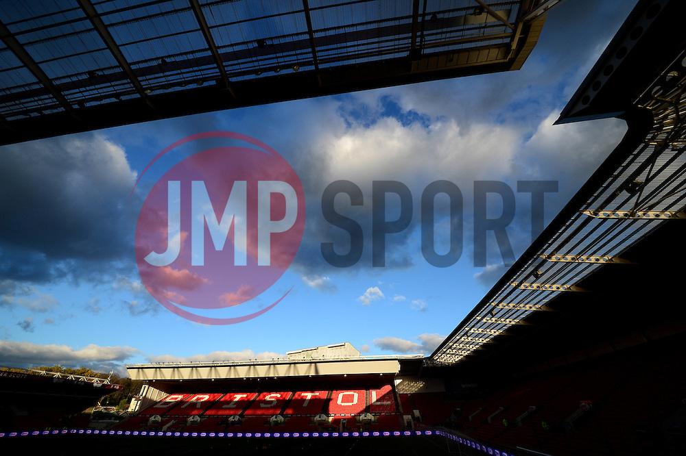 - Mandatory by-line: Dougie Allward/JMP - 05/11/2016 - FOOTBALL - Ashton Gate - Bristol, England - Bristol City v Brighton and Hove Albion - Sky Bet Championship