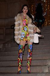 Deborah Hung attending the Giambattista Valli show during Paris Fashion Week Haute Couture Spring Summer 2018 on January 22, 2018. Photo by Julien Reynaud/APS-Medias/ABACAPRESS.COM