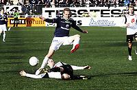 Fotball , 6. mai 2012 , Tippeligaen , Eliteserien<br /> Strømsgodset - Sogndal 3-0<br /> Øyvind Storflor , SIF<br /> Ørjan Hopen , Sogndal