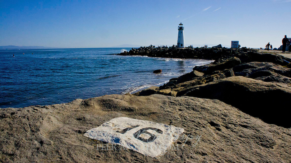 Santa Cruz Harbor ~ Walton Lighthouse ~ 3894
