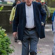 NLD/Laren/20130102 - Uitvaart John de Mol Sr., Jan van Veen