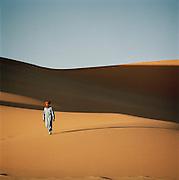 Tuareg Desert Guide, Sahara Desert, Libya