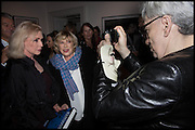 DEBBIE HARRY; MARIANNE FAITHFUL; CHRIS STEIN;  Chris Stein / Negative: Me, Blondie, and The Advent of Chris Stein / Negative: Me, Blondie, and The Advent of Punk - private view, Somerset House, the Strand. London. 5 November 2014.