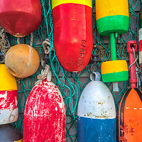 New England photography of colorful Rockport harbor buoys in Rockport, Massachusets on Cape Ann.<br /> <br /> New England photography of colorful Rockport harbor buoys is available as museum quality photography prints, canvas prints, acrylic prints, wood prints or metal prints. Prints may be framed and matted to the individual liking and decorating needs: <br /> <br /> https://juergen-roth.pixels.com/featured/rockport-harbor-buoys-juergen-roth.html<br /> <br /> Good light and happy photo making!<br /> <br /> My best,<br /> <br /> Juergen