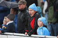 Fotball Adeccoliga 1 divisjon <br />Sandnes Ulf - FK Haugesund 251008<br /><br />Foto: Sigbjørn Andreas Hofsmo, Digitalsport<br /><br />Sandnesulf suppoertere gjesp nedrykk tap