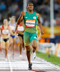 File photo dated 10-04-2018 of South Africa's Caster Semenya competes in the Women's 1500m Final at the Carrara Stadium during day six of the 2018 Commonwealth Games.