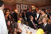 Graydon Carter hosts a diner for Tom Ford to celebrate the London premiere of ' A Single Man' Harry's Bar. South Audley St. London. 1 February 2010