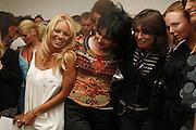 Pamela Anderson, Suzy Sioux ,Stella McCartney and Fernanda Tavarez,  PETA's Humanitarian Awards, Stella McCartney, Bruton Street, London, W1. 28 June 2006. ONE TIME USE ONLY - DO NOT ARCHIVE  © Copyright Photograph by Dafydd Jones 66 Stockwell Park Rd. London SW9 0DA Tel 020 7733 0108 www.dafjones.com