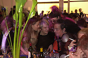 Tara Palmer-Tompkinson, Nick Logan, Tony James and Nicky Haslam. Mr. and Mrs. Andy Wong Chinese Year of the Dragon. Millenium Dome. 29/1/2000.<br />© Copyright Photograph by Dafydd Jones<br />66 Stockwell Park Rd. London SW9 0DA<br />Tel 0171 733 0108. wwwdafjones.com