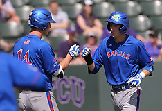 Kansas vs. TCU baseball 19 march 2017