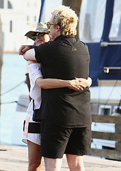 EXCLUSIVE: Liam Howlett and wife Natalie Appleton show PDA during the Venice Film Festival. 29 Aug 2018 Pictured: Liam Howlett and Natalie Appleton. Photo credit: AMA/ MEGA TheMegaAgency.com +1 888 505 6342
