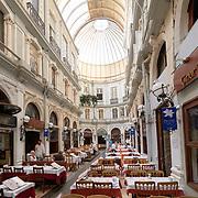 Cicek Pasaji restaurants, Istanbul, Turkey