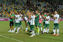 July 20, 2018 - Frosinone, Lazio, Italy - Avellino players greet the fans after the Pre-Season Friendly match between AS Roma and Avellino at Stadio Benito Stirpe on July 20, 2018 in Frosinone, Italy. (Credit Image: © Silvia Lore/NurPhoto via ZUMA Press)