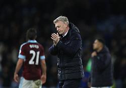 Sunderland manager David Moyes looks dejected at the final whistle - Mandatory by-line: Jack Phillips/JMP - 31/12/2016 - FOOTBALL - Turf Moor - Burnley, England - Burnley v Sunderland - Premier League