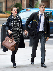 © London News Pictures. 29/05/2013. London, UK. Former Whitehall editor of The Sun Newspaper, CLODAGH HARTLEY (left) leaving Westminster Magistrates court where she faces charges of conspiracy to commit misconduct in public office over allegations that The Sun newspaper paid £17,475 to HMRC press officer Jonathan Hall. Photo credit: Ben Cawthra/LNP