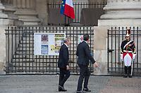 Claude Guéant Obsèques de Jacques Chirac Lundi 30 Septembre 2019 église Saint Sulpice Paris