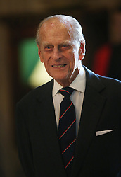File photo dated 09/07/14 of the Duke of Edinburgh attends a Service of Dedication to Admiral Arthur Philip, at Westminster Abbey. The Duke of Edinburgh has died, Buckingham Palace has announced. Issue date: Friday April 9, 2020.. See PA story DEATH Philip. Photo credit should read: Peter Macdiarmid/PA Wire