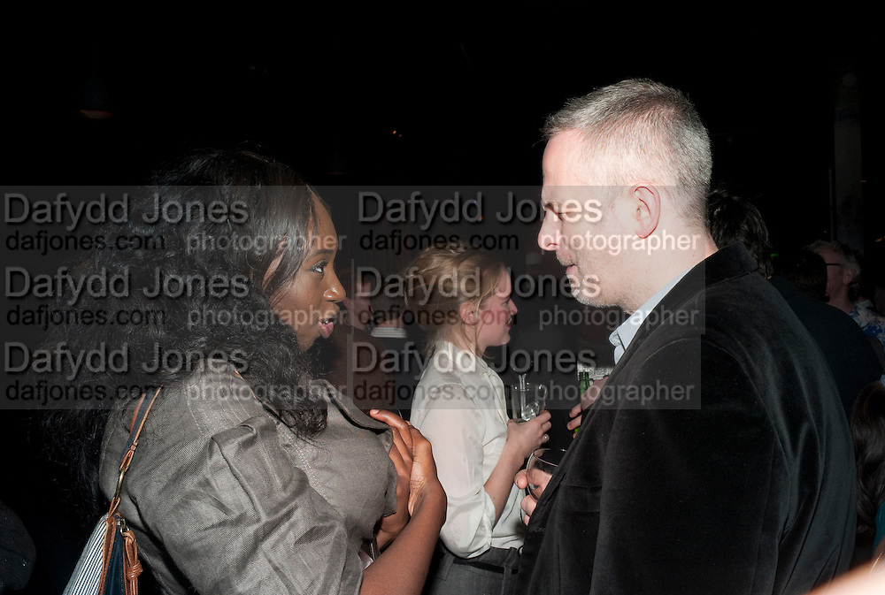 BOLA AGBAJE, Clybourne Park Press night. Opened at Wyndham's Theatre. Party afterwards at Mint Leaf, Haymarket, London. 8 February 2011.  -DO NOT ARCHIVE-© Copyright Photograph by Dafydd Jones. 248 Clapham Rd. London SW9 0PZ. Tel 0207 820 0771. www.dafjones.com.