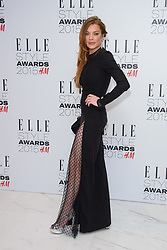 Feb. 24, 2015 - London, England, United Kingdom - LINDSAY LOHAN arrives at the ELLE Style Awards 2015 at the Skybar at the Walkie Talkie Tower. (Credit Image: © Chris Joseph/i-Images/ZUMA Wire)