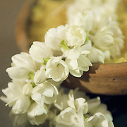 Jasmine flower decoration for a South Indian Traditional Tamil Brahmin Wedding