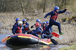 March 14, 2018 - Rendeux, Belgique - Alexis Saelemaekers of RSC Anderlecht - illustration rafting  pictured during the team building of Rsc Anderlecht in Rendeux , Belgium. ***RENDEUX, BELGIUM - March 14, 2018 EXCLUSIF (Credit Image: © Panoramic via ZUMA Press)