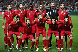 March 22, 2019 - Lisbon, Portugal - Portugal's starter team before the UEFA EURO 2020 group B qualifying football match Portugal vs Ukraine, at the Luz Stadium in Lisbon, Portugal, on March 22, 2019. (Credit Image: © Pedro Fiuza/NurPhoto via ZUMA Press)