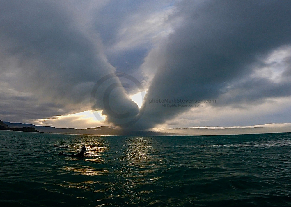 Stunning clouds North coast Dunedin