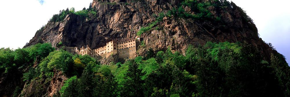 TURKEY, NORTH COAST Sumela Byzantine Monastery