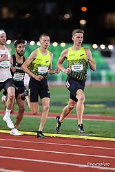 University of Oregon<br /> Oregon Relays track and field meet<br /> April 23-24, 2021 Eugene, Oregon, USA<br /> mens 1500, Brooks