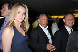 KATE REARDON and SIR PHILIP GREEN at the annual GQ Awards held at the Royal Opera House, Covent Garden, London on 8th September 2009.