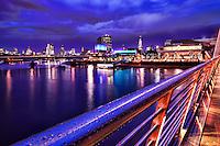 Hungerford Bridge & River Thames