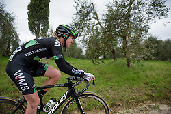 Lauren Kitchen (WM3) at Strade Bianche - Elite Women. A 127 km road race on March 4th 2017, starting and finishing in Siena, Italy. (Photo by Sean Robinson/Velofocus)