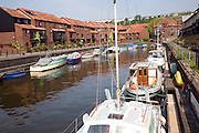 Boats moorings Pooles Wharf marina, Floating Harbour, Bristol