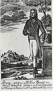 Louis Charles Antoie Desaix (1768-1800) General during the French Revolutionary Army.  Killed at the Battle of Marengo. Engraving.