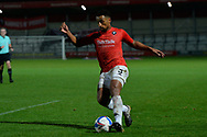 Ibou Touray during the EFL Sky Bet League 2 match between Salford City and Bradford City at the Peninsula Stadium, Salford, United Kingdom on 21 November 2020.