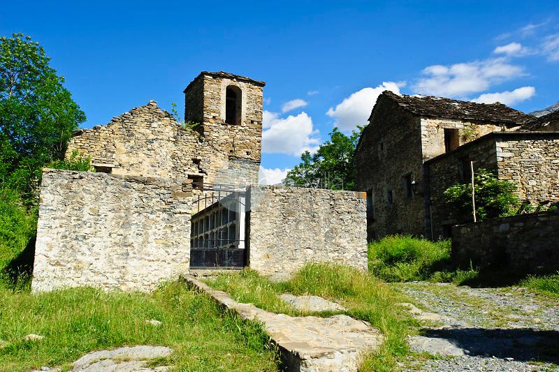Escuaín. Comarca de Sobrarbe. Pirineos. Huesca ©ANTONIO REAL HURTADO / PILAR REVILLA