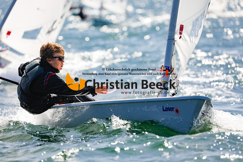 , Travemünder Woche 19. - 28.07.2019, Laser 4.7 - GER 209905 - Nick HEIMANN - Kieler Yacht-Club e. V