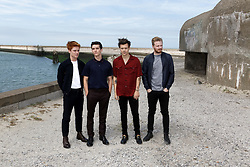 L-R: Tom Glynn-Carney, Fionn Whitehead, Harry Styles and Jack Lowden attending the Photocall of Dunkirk in Dunkerque, France, on July 16, 2017. Photo by Sylvain Lefevre/ABACAPRESS.COM
