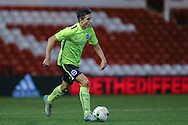 Brighton U18 Danny Barker  during the FA Youth Cup match between U18 Nottingham Forest and U18 Brighton at the City Ground, Nottingham, England on 10 December 2015. Photo by Simon Davies.