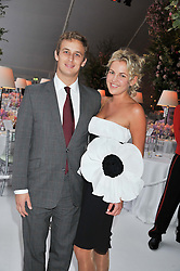 HANNELI RUPERT and FRANCESCO CIARDI at a dinner hosted by Cartier following the following the opening of the Chelsea Flower Show 2012 held at Battersea Power Station, London on 21st May 2012.