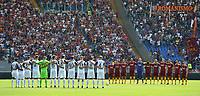 Roma and Chievo players during 1minute silence in memory of Maria Sensi.<br /> Roma 16-09-2018 Stadio Olimpico Football Calcio Serie A 2018/2019 AS Roma - Chievo <br /> Foto Antonietta Baldassarre / Insidefoto