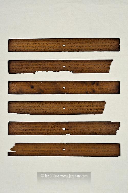 Ancient manuscripts, Kabuyutan Pamalayan, Ciburuy, Bayongbong, Garut, West Java, Indonesia.